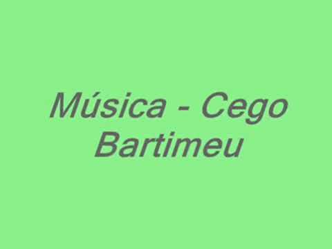 musica o cego bartimeu