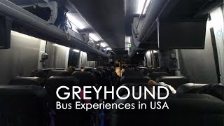 Greyhound Experience in USA