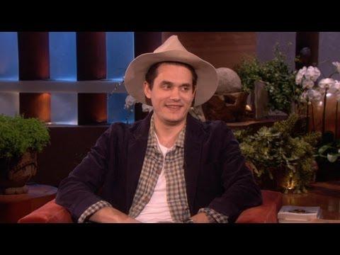 John Mayer's Tearful Moment
