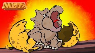 The Egg - Dinosaur Songs from Dinostory by Howdytoons S1E1