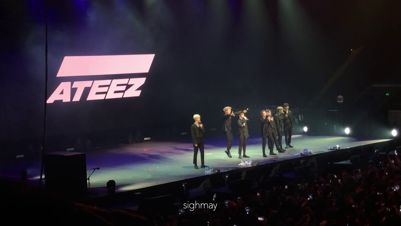190809 ATEEZ - MET Aussie Slang [The Expedition Tour in Melbourne]