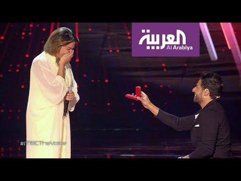 صباح العربية: حماقي يخطف شيماء في ذا فويس بخاتم وزفة  - نشر قبل 1 ساعة