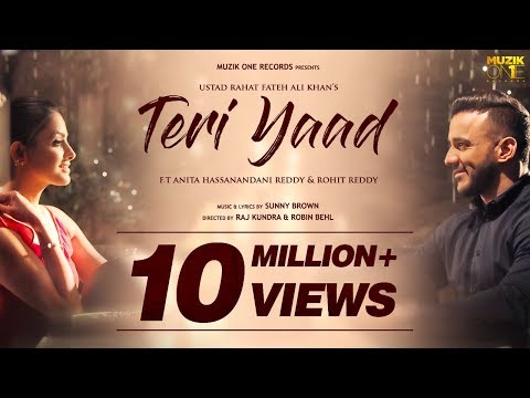Teri Yaad || Official Song Video || Ustad Rahat Fateh Ali Khan || Ft. Anita & Rohit Reddy