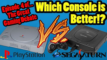 Is The SEGA Saturn Better Than The Sony Playstation!? Top Hat Chat Live!!