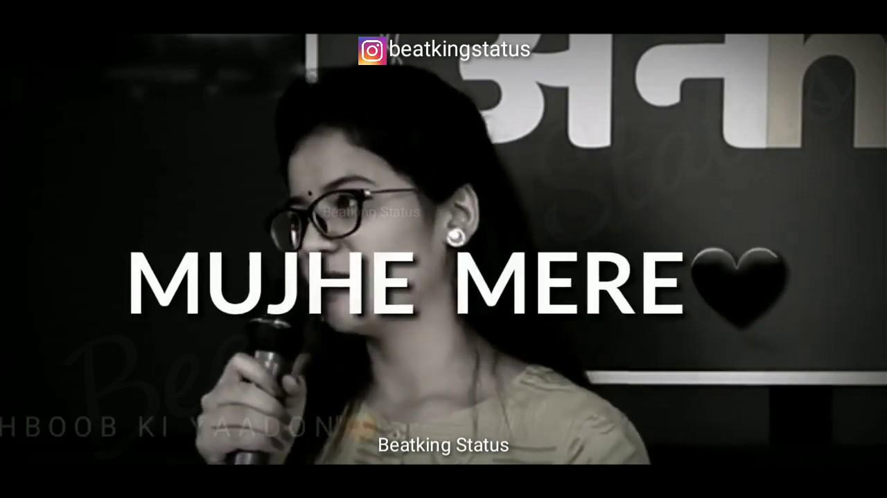 Download Nidhi Narwal Poetry WhatsApp Status �  One Sided Love �  Latest Shayari Status   Beatking Status