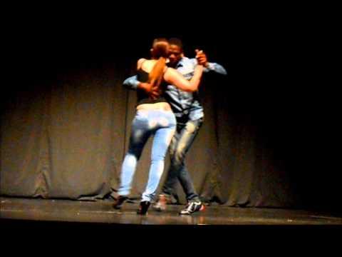 Jasna & Elsio - Presenting semba in Smederevo