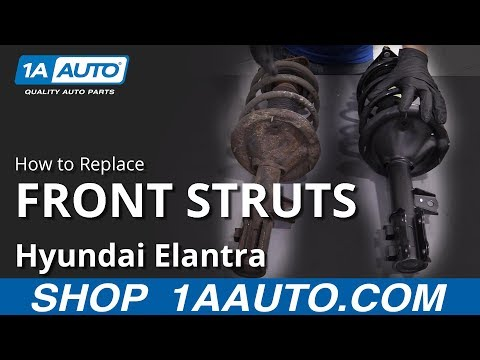 How to Replace Front Struts 07-10 Hyundai Elantra