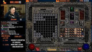 Diablo 2 - Holy Grail Sorc - GG FIND #66! WE FINALLY FIND THE RUNE