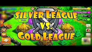 Silver League vs Gold League - BEST Trophy League to Farm Post Update for TH8 | Clash of Clans