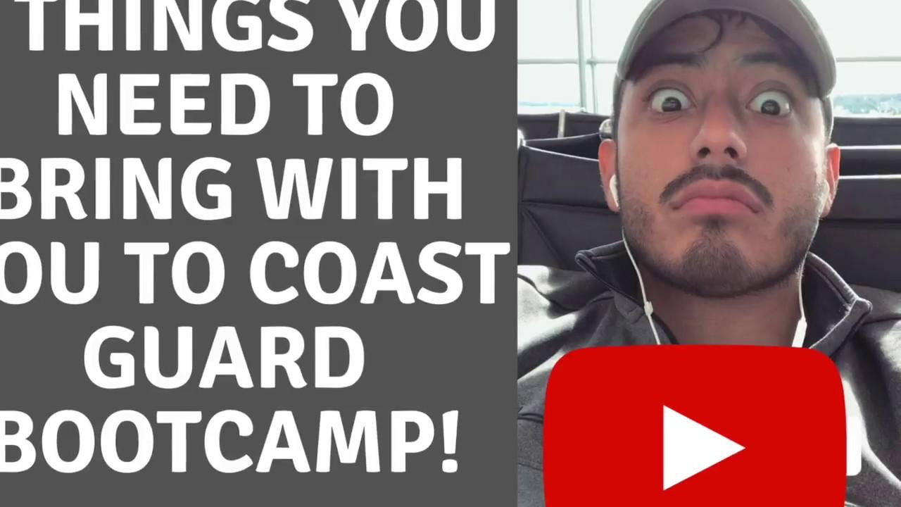 3 THINGS YOU MUST BRING TO COAST GUARD BOOTCAMP CAPE MAY VLOG 030