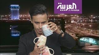 يمني يتحدى التوزان وينفذ تجربة على الهواء مباشرة في تفاعلكم