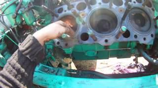 причина по которой двигатель берёт масло. на примере СМД 60
