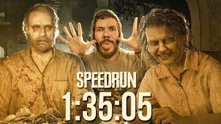 RESIDENT EVIL 7 - SPEEDRUN Any% - 1:35:05