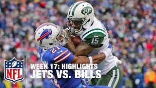Jets vs. Bills | Week 17 Highlights | NFL