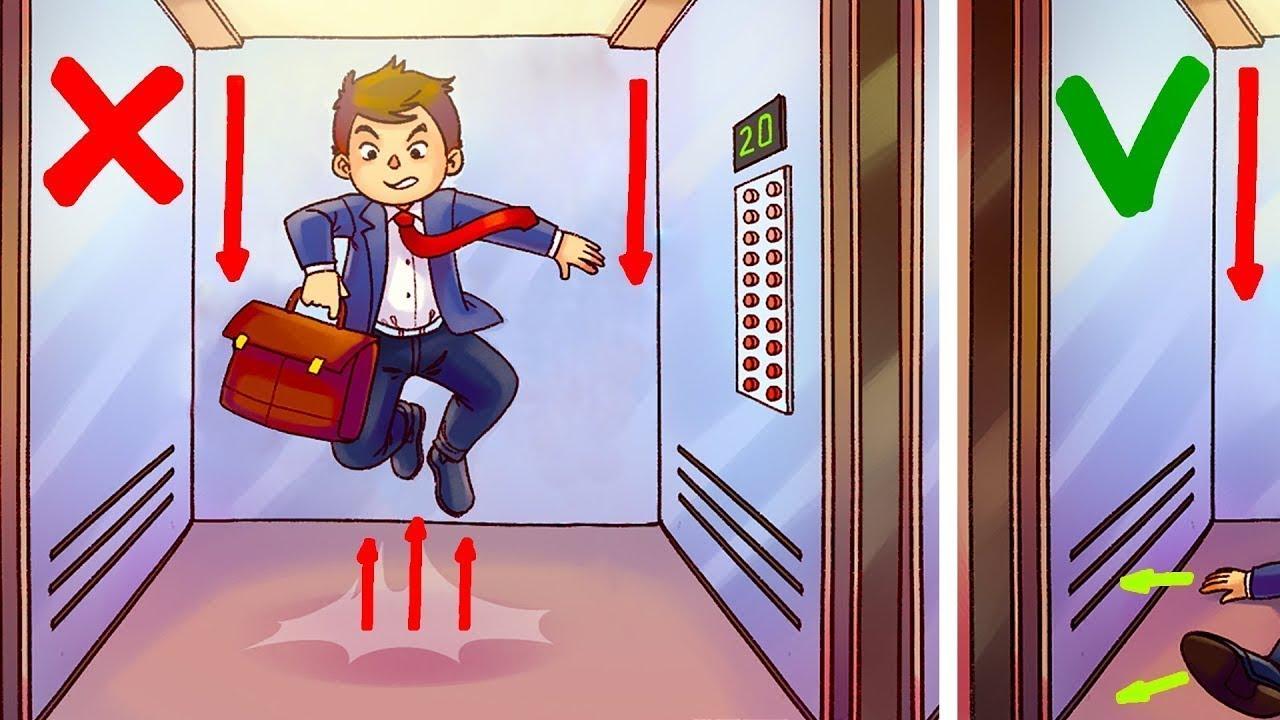Comment Survivre Dans Un Ascenseur En Chute Libre Youtube