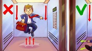 Comment Survivre Dans un Ascenseur en Chute Libre