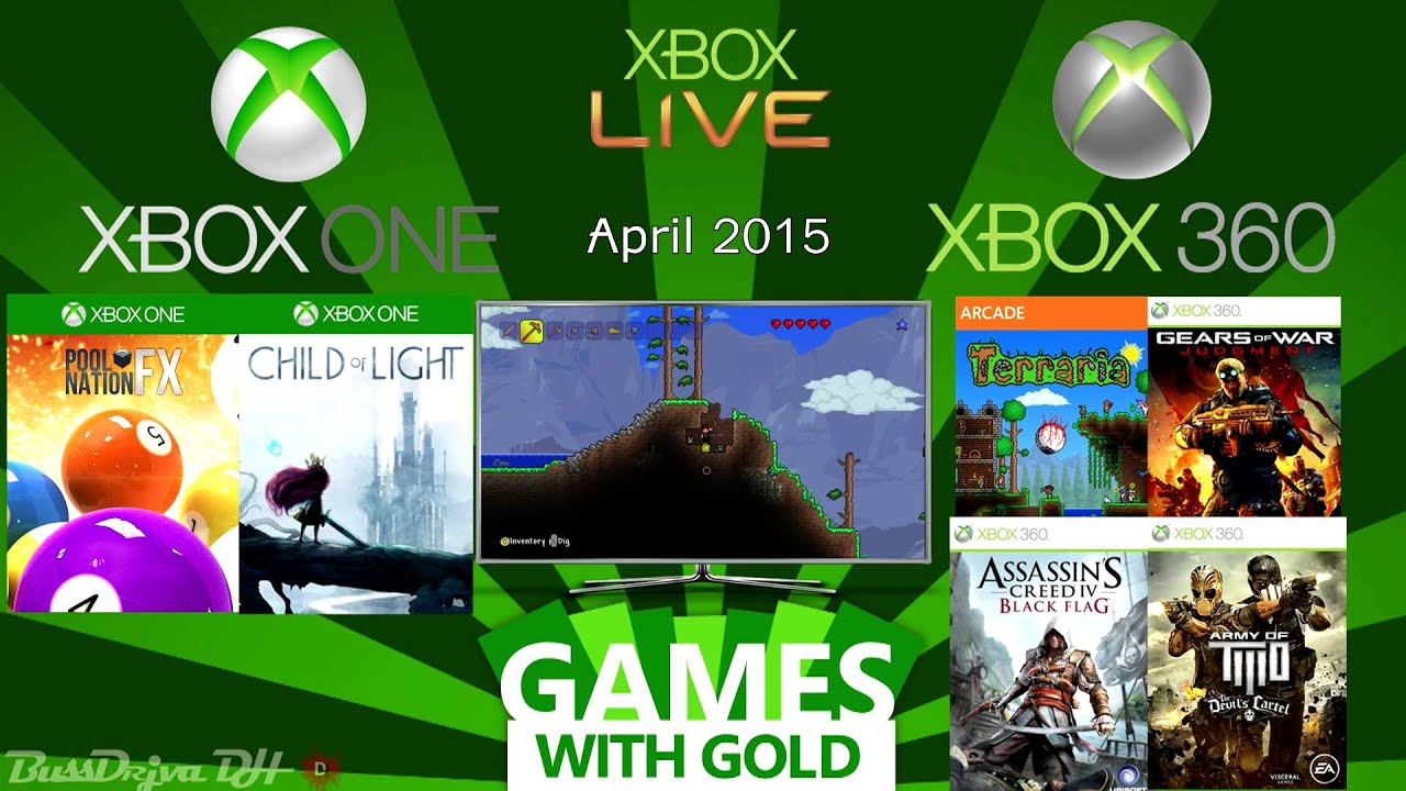 Xbox One Xbox 360 Games With Gold April 2015 Youtube