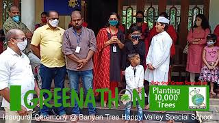 Greenathon Inauguration function Banyan Tree Happy Valley Special School Trivandrum  Heart4Earth