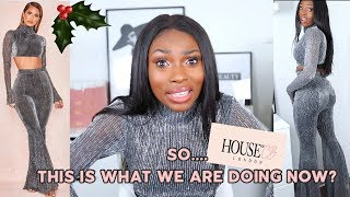 I TRIED THE HOUSE OF CB PARTY SEASON COLLECTION...GIRL??? DO YOU WANT YOUR BOSS TO SEE YOU IN THESE?
