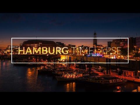 HAMBURG TIMELAPSE | Day to Night at HafenCity - Zeitraffer [4K | Ultra HD]