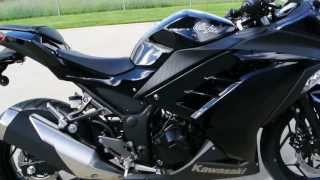 2014 Kawasaki Ninja 300 ABS in Black    Review and Overview    For Sale $5,299