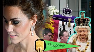 The Queen passed. Kate sold the queen's crown when Prince William became king