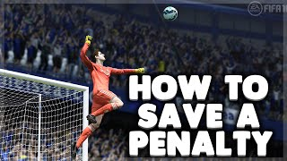 FIFA - How to SAVE A PENALTY as a Goalkeeper  - Tutorial - PC/XBOX/PS4 CONTROLS [FIFA 13-16]