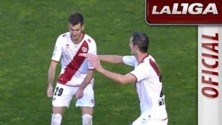 La Liga   Todos los goles del Rayo Vallecano - RCD Mallorca (2-0)   24-11-2012   J13