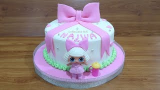 LOL SURPRISE MAINAN Cara Membuat Kue Ulang Tahun LOL SURPRISE Doll Cara Menghias Kue Tart Cake