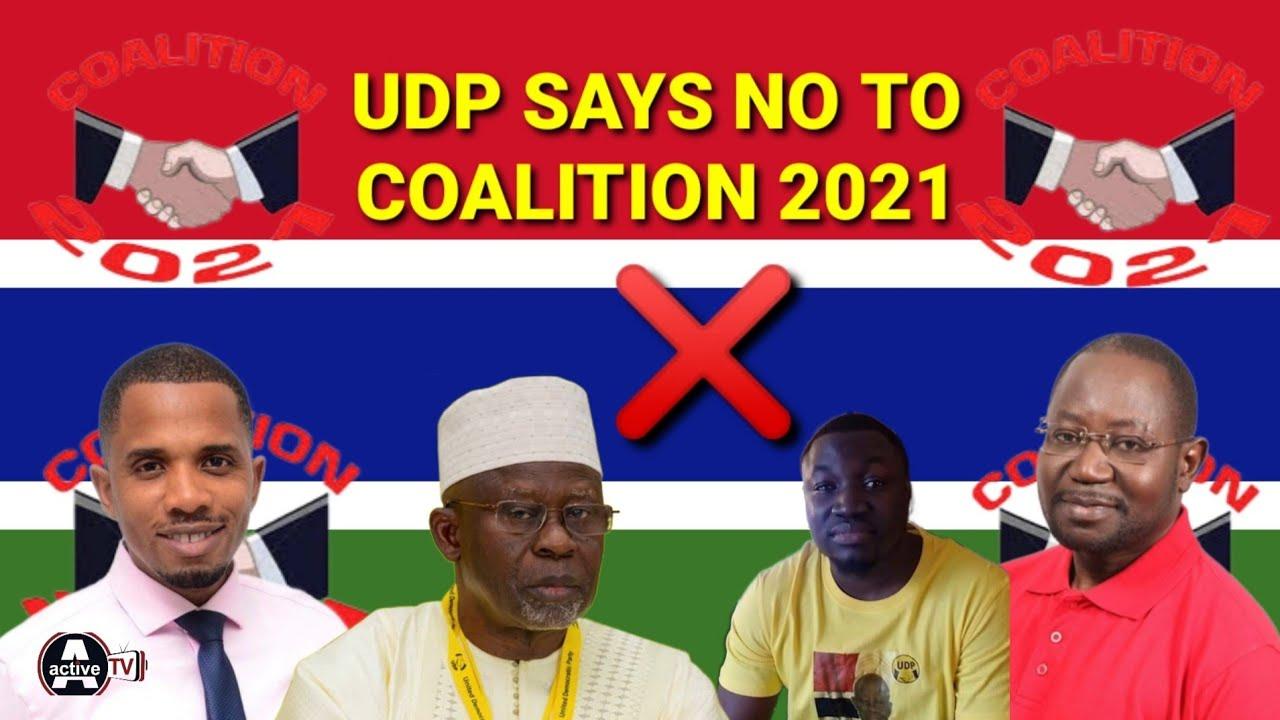 COALITION 2021 - Pata Pj SaidyKhan & His UDP Says A Big NO To Coalition Movement
