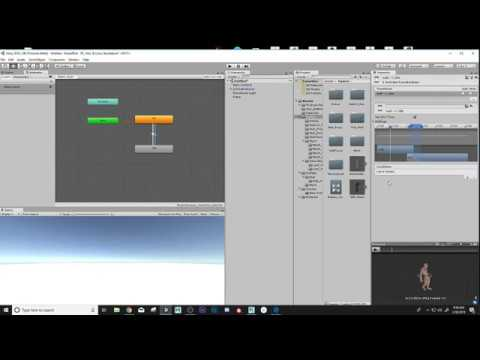 Creating Animation Controller for Charterer in Unity