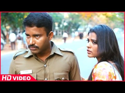Thirudan Police Tamil Movie - Rajendran and John Vijay try to kidnap Iyshwarya