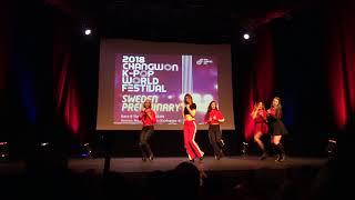 [UPDC] KWF Sweden 2018: Red Velvet Bad Boy Dance Cover