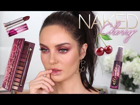 Morello Cherry Makeup Tutorial \\ Urban Decay Naked Cherry Collection