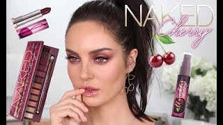 Morello Cherry Makeup Tutorial \\ Urban Decay Naked Cherry Collection