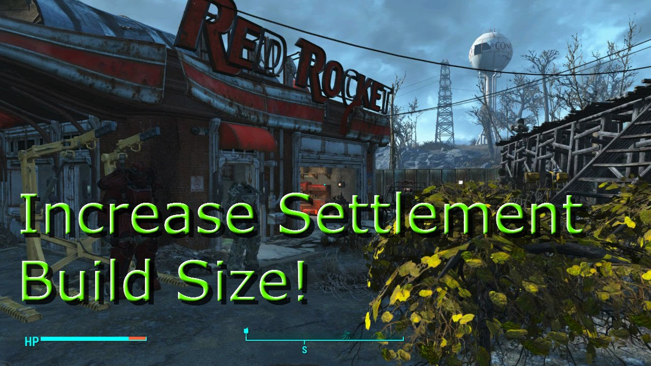 Fallout 4 How to increase / have unlimited build size for ...