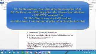 Tải windows 10 iso - hướng dẫn cài đặt mới windows 10