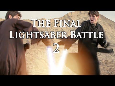 The Final Lightsaber Battle - A Star Wars Fan Film