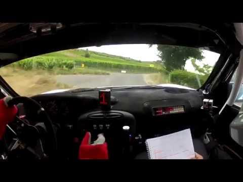 Ruben Zeltner Porsche 911 GT3 WRC Rally Germany 2012 Onboard WP4 Mittelmosel