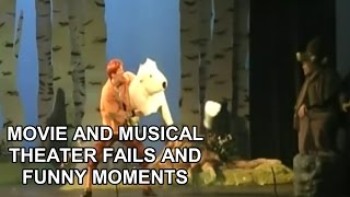 Movie and Musical Theater Fails and Funny Moments