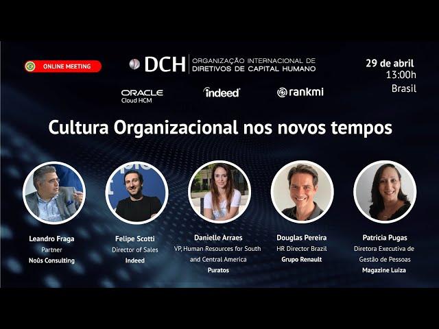 Cultura organizacional nos novos tempos