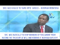SRC has failed to tame MPs' greed - Prof. Herman Manyora.