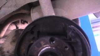 ВАЗ 2114 замена задних тормозных колодок