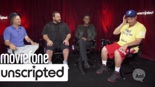 'Grown Ups 2' | Unscripted | Adam Sandler, Chris Rock, Kevin James, David Spade