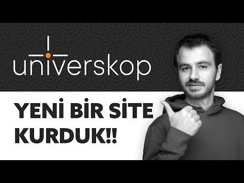 YKS Hazırlık Öğrencileri Için Yepyeni Bir Platform - Universkop.com Yayında!