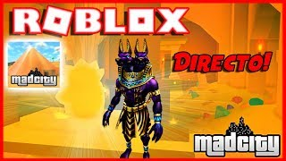 robLOX DIRECT 🔴: MADCITY!! We steal The Pyramid With SUBS!!