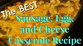 Sausage, Egg, and Cheese Casserole Recipe