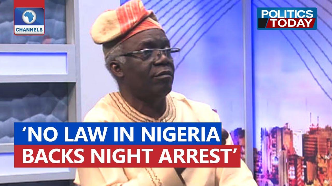 Download Sunday Igboho:  No Law In Nigeria Backs Night Arrest - Falana