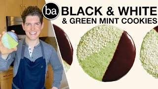 I Tested Rick Martinez's Black and White and Green Cookies: Bon Appétit Review #54
