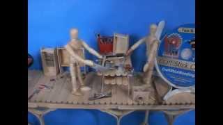 Craft Stick Crafts, Composite Boxes, & Birch Canoe